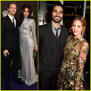 Naya Rivera & Brittany Snow Make It a Couples Night at Golden Globes After Party 2015