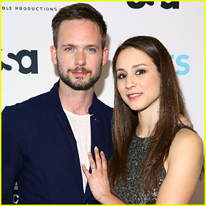 Patrick J. Adams Opens Up About Fiancee Troian Bellisario's Guest-Starring Role on 'Suits' (JJ Interview)