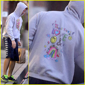 Patrick Schwarzenegger Keeps Miley Cyrus Near Even When She's Not With Him