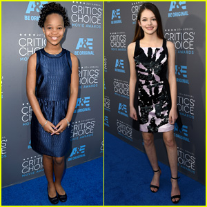 Quvenzhane Wallis & Mackenzie Foy Rep Young Actors at Critics' Choice Awards 2015