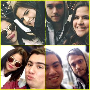 Selena Gomez Gets Visit from Zedd in Atlanta - Photos!