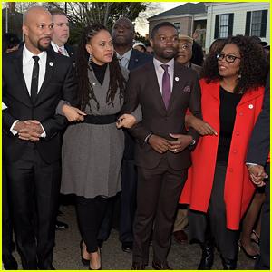 David Oyelowo, Oprah Winfrey, & 'Selma' Cast March to Honor Martin Luther King Jr. in Alabama