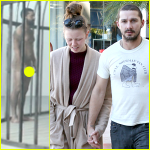 Shia LaBeouf Goes Naked in Sia's 'Elastic Heart' Teaser - Watch Now!