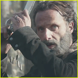 Andrew Lincoln is Locked & Loaded in 'Walking Dead' Season 5 Trailer - Watch Now!