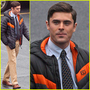 Zac Efron Begins Filming His Next Movie 'Dirty Grandpa' in Atlanta