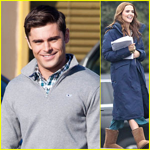 Zac Efron Looks Hot & Preppy on the Set of His New Movie 'Dirty Grandpa'