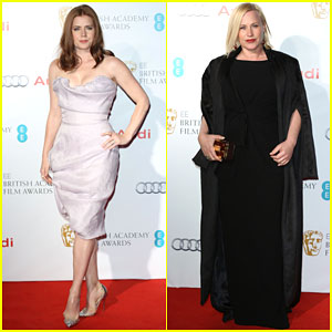Amy Adams & Patricia Arquette Get All Dressed Up for BAFTAs Nominee Party
