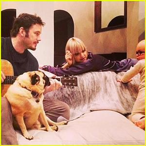 Chris Pratt, Anna Faris, & Their Son Jack Are the Cutest Trio