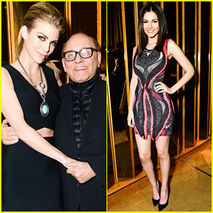 AnnaLynne McCord & Victoria Justice Celebrate Valentine's Day With BCBG During NYFW
