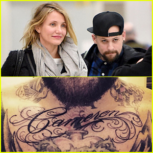 Benji Madden Tattoed Cameron Diaz's Name Across His Chest!
