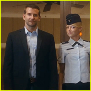 Bradley Cooper & Emma Stone Have Military Liasion in 'Aloha' Trailer - Watch Now!