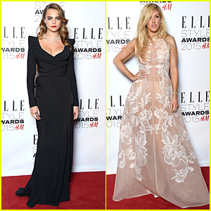 Cara Delevingne & Ellie Goulding Turn Heads at Elle Style Awards 2015