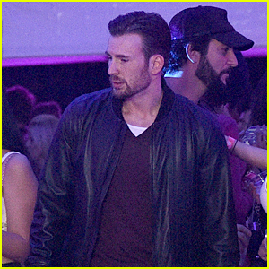 Chris Evans Parties with Playboy During Super Bowl Weekend!