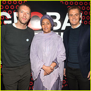 Chris Martin Signs On as an Ambassador for Global Citizen