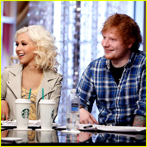 Christina Aguilera Reacts to Ed Sheeran's 'Dirrty' Cover