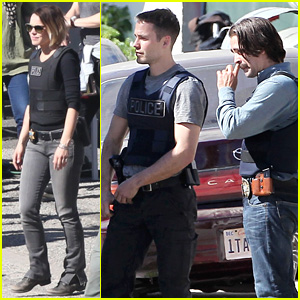 Colin Farrell, Taylor Kitsch, & Rachel McAdams Continue to Film 'Totally Different' Season of 'True Detective'