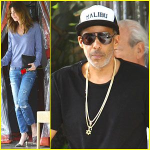 Ellen Pompeo & Chris Ivery Make It a Date Day