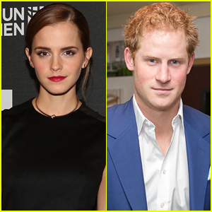 Emma Watson Speaks Out About Prince Harry Dating Rumors!
