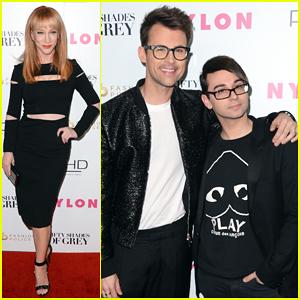 Fashion Police's Kathy Griffin & Brad Goreski Kick Off Fashion Week with '50 Shades' Release Party!