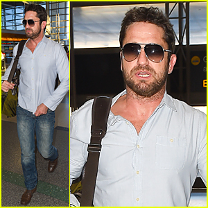 Gerard Butler s Mystery Woman Revealed Morgan Brown (Details)