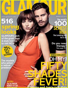 Dakota Johnson & Jamie Dornan Show Their Sexy Side for 'Glamour UK'