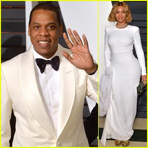 Beyonce & Jay Z Walk Carpet Separately at Oscars 2015 After Party