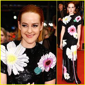 Jena Malone Feels Like She's Wearing a Work of Art at the Berlin Film Festival