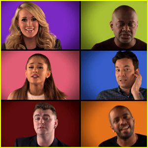 Jimmy Fallon & Music Superstars Sing 'We Are The Champions' A Cappella (Video)