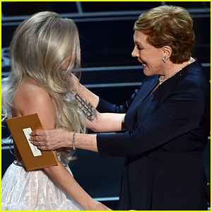 Julie Andrews Gushes About Lady Gaga's Oscars 2015 Performance, Calls Her a 'New Friend'
