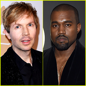 Kanye West Jokingly Tries to Steal Beck's Grammy! (Video)