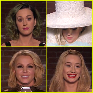 Katy Perry & Lady Gaga Read 'Mean' Tweets For Jimmy Kimmel - Watch Funny Video Here!