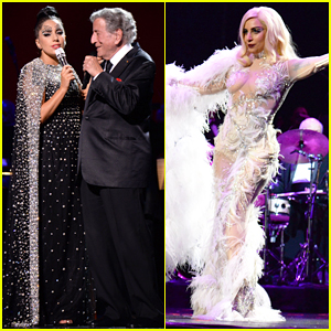 Lady Gaga & Tony Bennett Celebrate 'Cheek To Cheek' Grammys Win at The Wiltern Concert!
