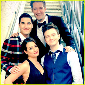 Lea Michele & Cast Tweet Heartfelt Goodbyes on Glee's Last Day