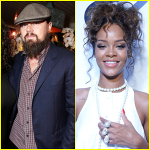 Leonardo DiCaprio Helped Throw Rihanna's 27th Birthday Party
