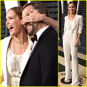 Leslie Mann & Judd Apatow Plan Drinking A Lot During Oscars' Night