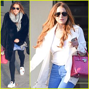 Lindsay Lohan Says Goodbye Los Angeles, Hello London!