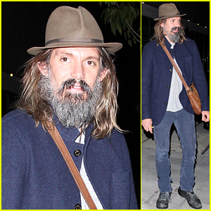 Lukas Haas Still Looks Unrecognizable with His Shaggy Grey Beard