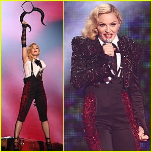 Madonna Shows Triumph Despite Fall In BRIT Awards 2015 Performance (Video)