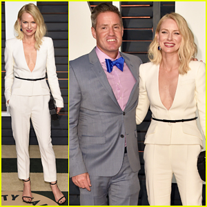 Naomi Watts Celebrates 'Birdman' Best Picture Win with Brother Ben at Oscars After Party!