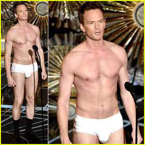 Neil Patrick Harris Had to Pad His Oscars Tighty Whities