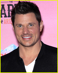 Nick Lachey & Son Camden Share Sweet Kiss in Cute Photo