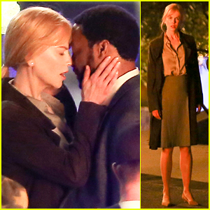 Nicole Kidman & Chiwetel Ejiofor Share Steamy Movie Moment