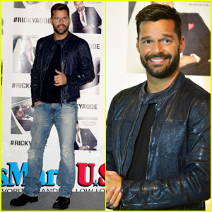 Ricky Martin Hits Miami for 'A Quien Quiera Escuchar' Album Signing!