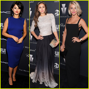Selena Gomez Hangs Out with Nina Dobrev & Julianne Hough at Pre-Oscars Party!