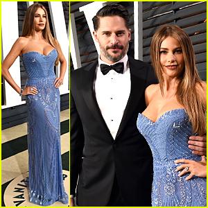 Sofia Vergara & Joe Manganiello Are Hottest Engaged Couple at Vanity Fair Oscar Party 2015