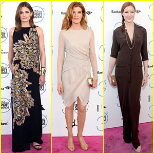 Stana Katic & Rene Russo Bring Their Style to Spirit Awards 2015!