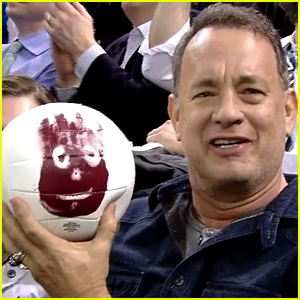 Tom Hanks Reunites with Wilson from 'Cast Away'! (Video)