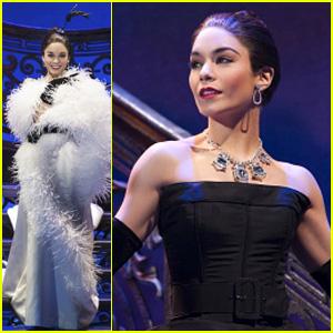 Vanessa Hudgens Prepares for 'Gigi' Broadway Opening