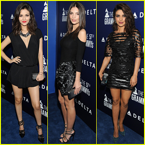Victoria Justice, Emily Ratajkowski & Priyanka Chopra Live It Up at Delta's Pre-Grammy Party 2015!