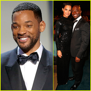 Will Smith & Taye Diggs Suit Up at NAACP Image Awards 2015
